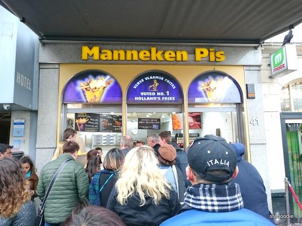 Manneken Pis storefront