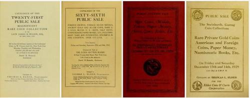 NEWMAN PORTAL DIGITIZES THOMAS ELDER AUCTION CATALOGS
