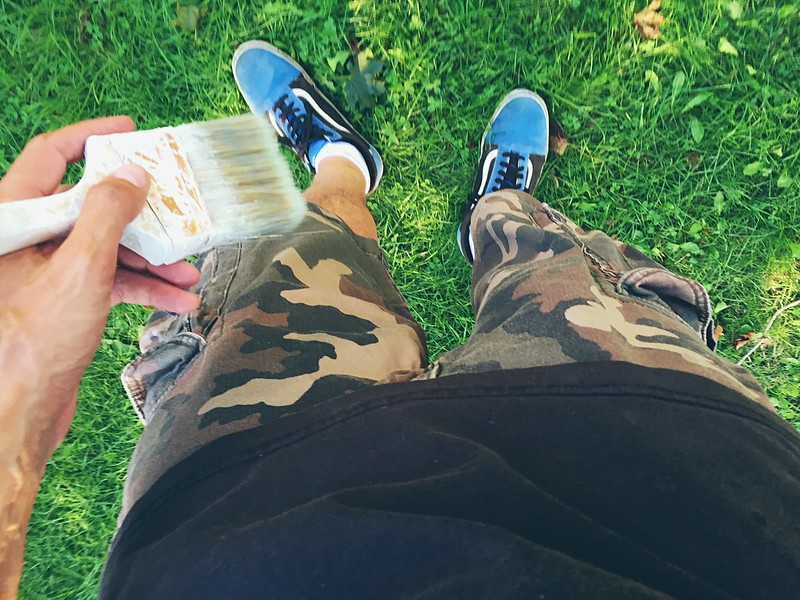 WHATEVER! CAMO CARGO SHORTS ARE AWESOME!