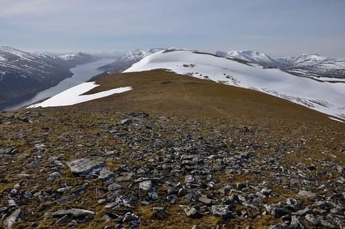 Loch Ericht from The Fara