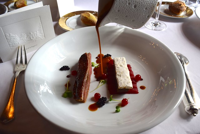 Duck with Nougat and Seasonal Fruits at Chateau de la Treyne | www.rachelphipps.com @rachelphipps