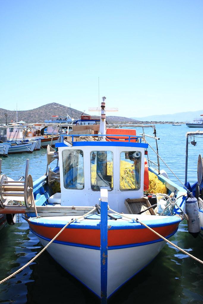 Elounda Fisherman's Boat