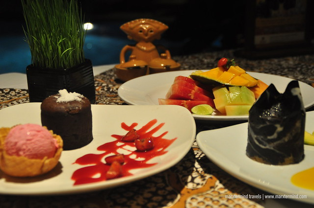 Desserts and Fruits at Gabah Indonesian Cuisine