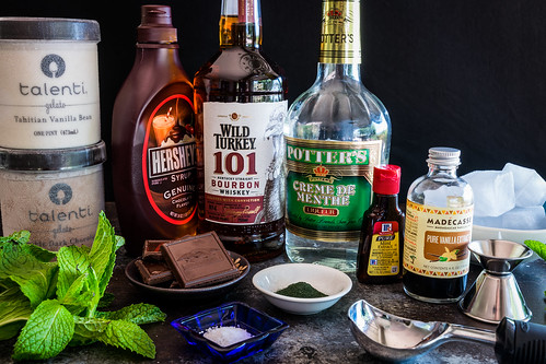 a selection of cool ingredients