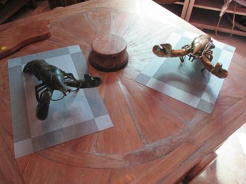 Dun and shiny #pei #brackleybeach #dunesstudio #lobster #sculpture #latergram