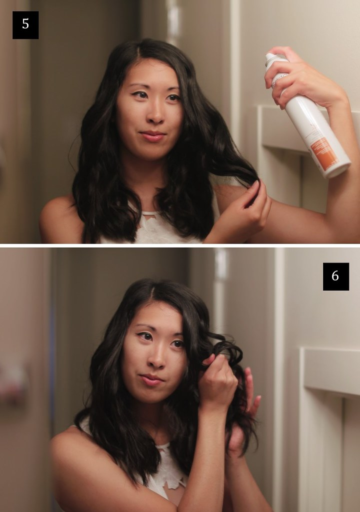hair tutorial: how to make the perfect beach waves via thedemuremuse.com