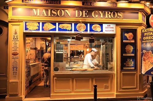 Rue de la Huchette Paris