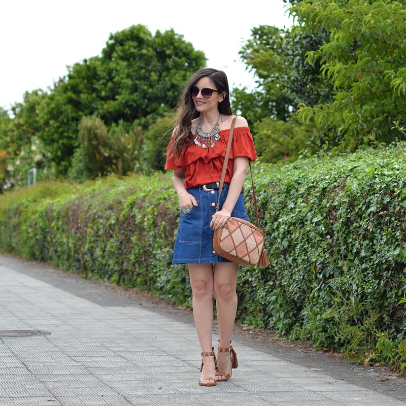 zara_ootd_lookbook_street style_stradivarius_denim_01