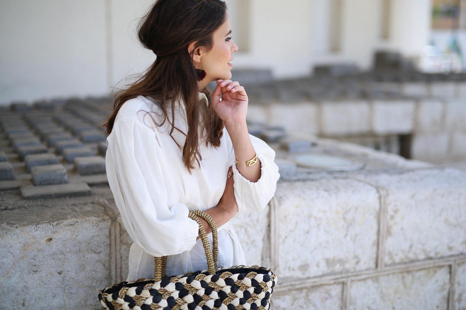 jessie chanes seams for a desire zara vestido lino capazo rafia-6