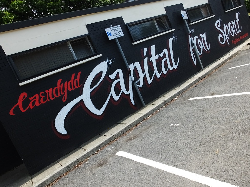 Street art - Capital for Sport