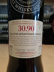 SMWS 30.90 - Juicy fruit and perfumed sweetness