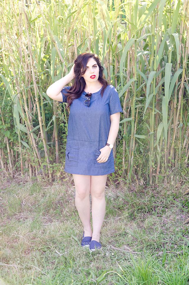 Tendencia vestido denim verano 2016