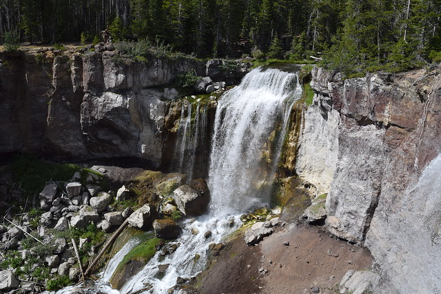 Paulina Falls, Newberry National Volcanic Monument, Oregon