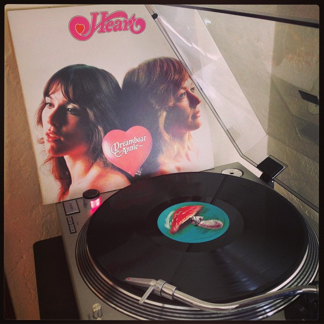 #housecleaningjams #heart #dreamboatannie #nowspinning #clubrpm #vinyloftheday #vinyligclub #wilsonsisters #photographicplaylist