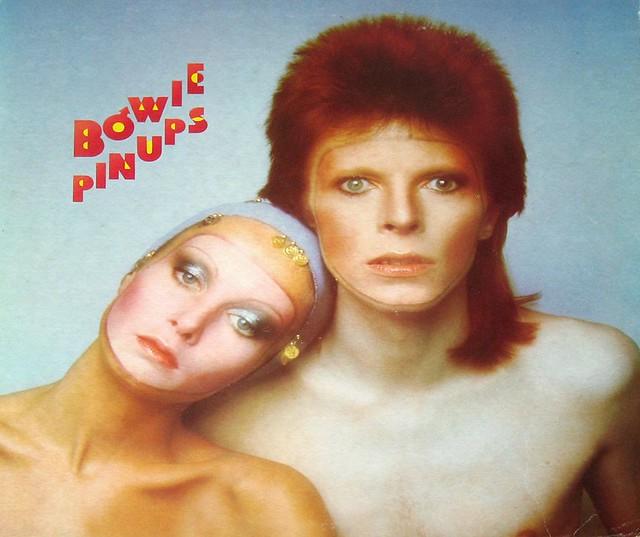 David Bowie Pin Ups Twiggy Insert
