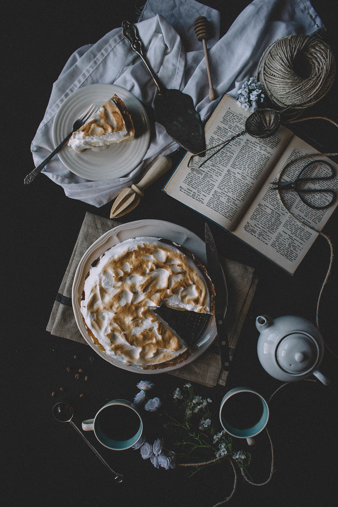 Deep Dish Lemon Meringue Cream Pie