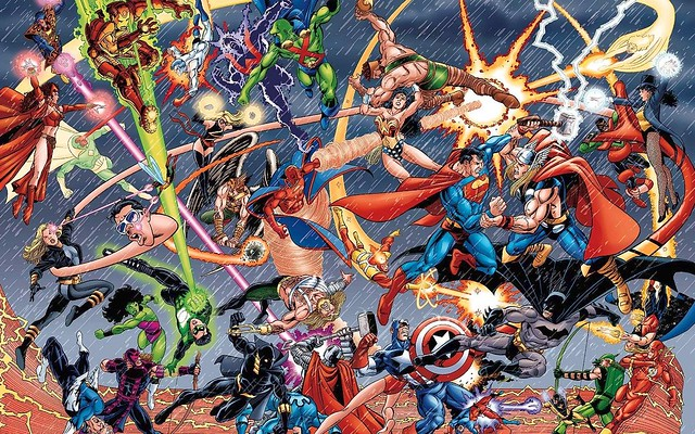美國漫畫英雄排名Top 100!