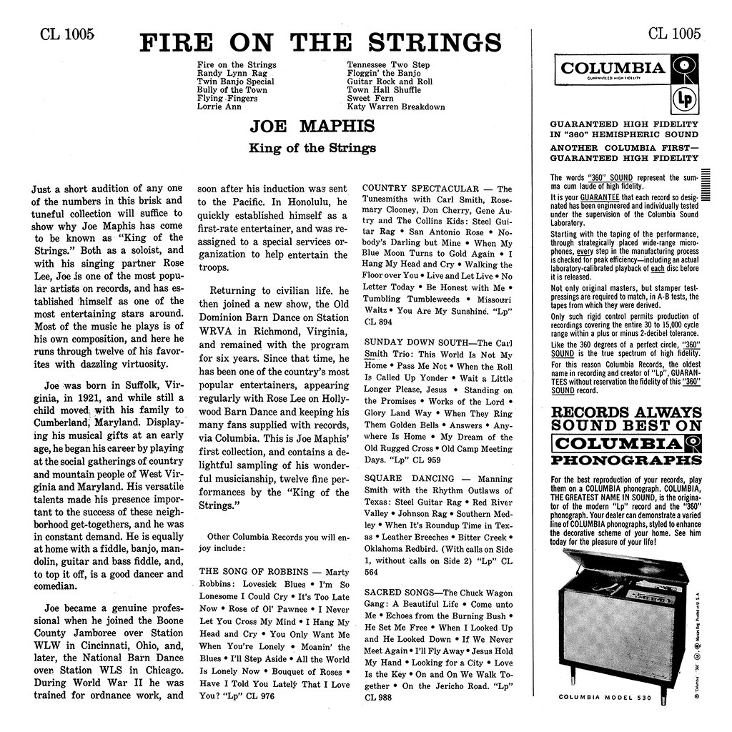 Joe Maphis - Fire On The Strings