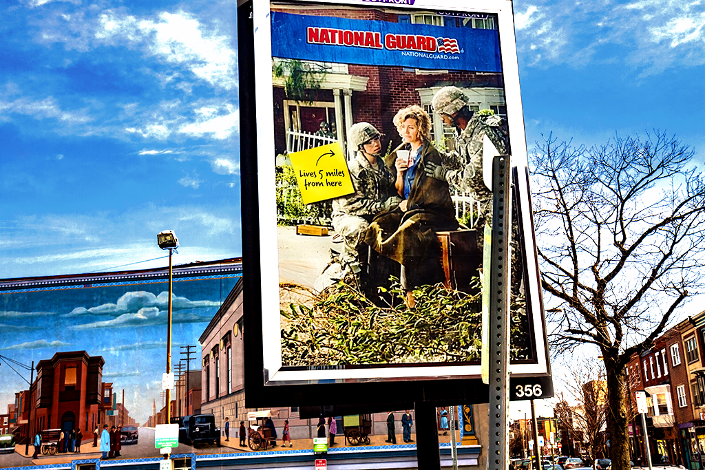 NATIONAL-GUARD-recruiting-billboard-on-3-22-15--South-Philadelphia-2