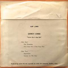 QUINCY JONES:YOU'VE GOT IT BAD GIRL(JACKET B)