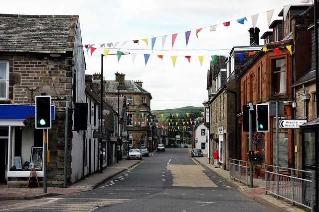 High Street, Langholm, Scottish Borders.