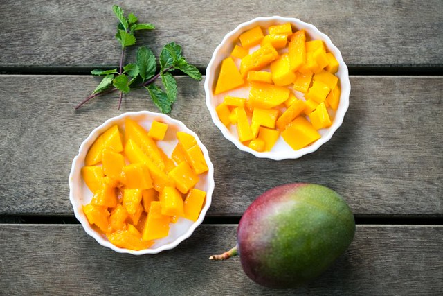 mangoes from the garden of Blue Osa