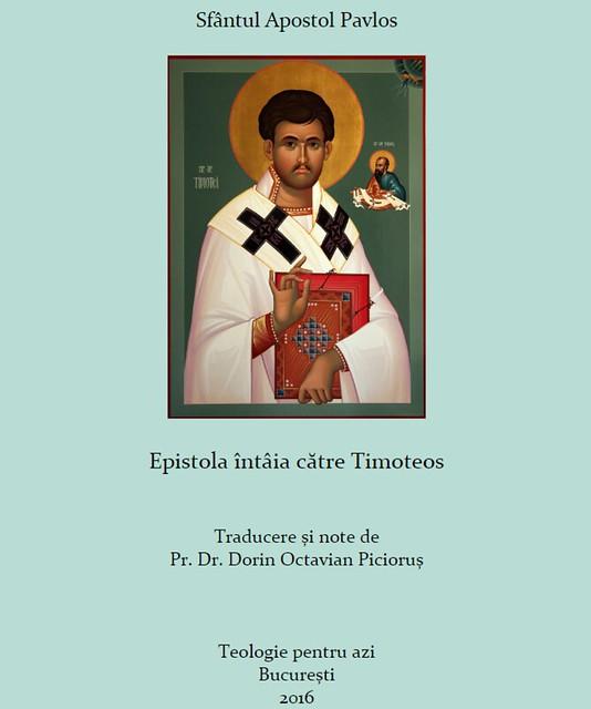 Epistola intaia catre Timoteos