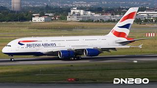 British AW A380-841 msn 215