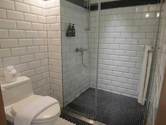 乾濕分離的浴廁@雀客旅館CHECK INN