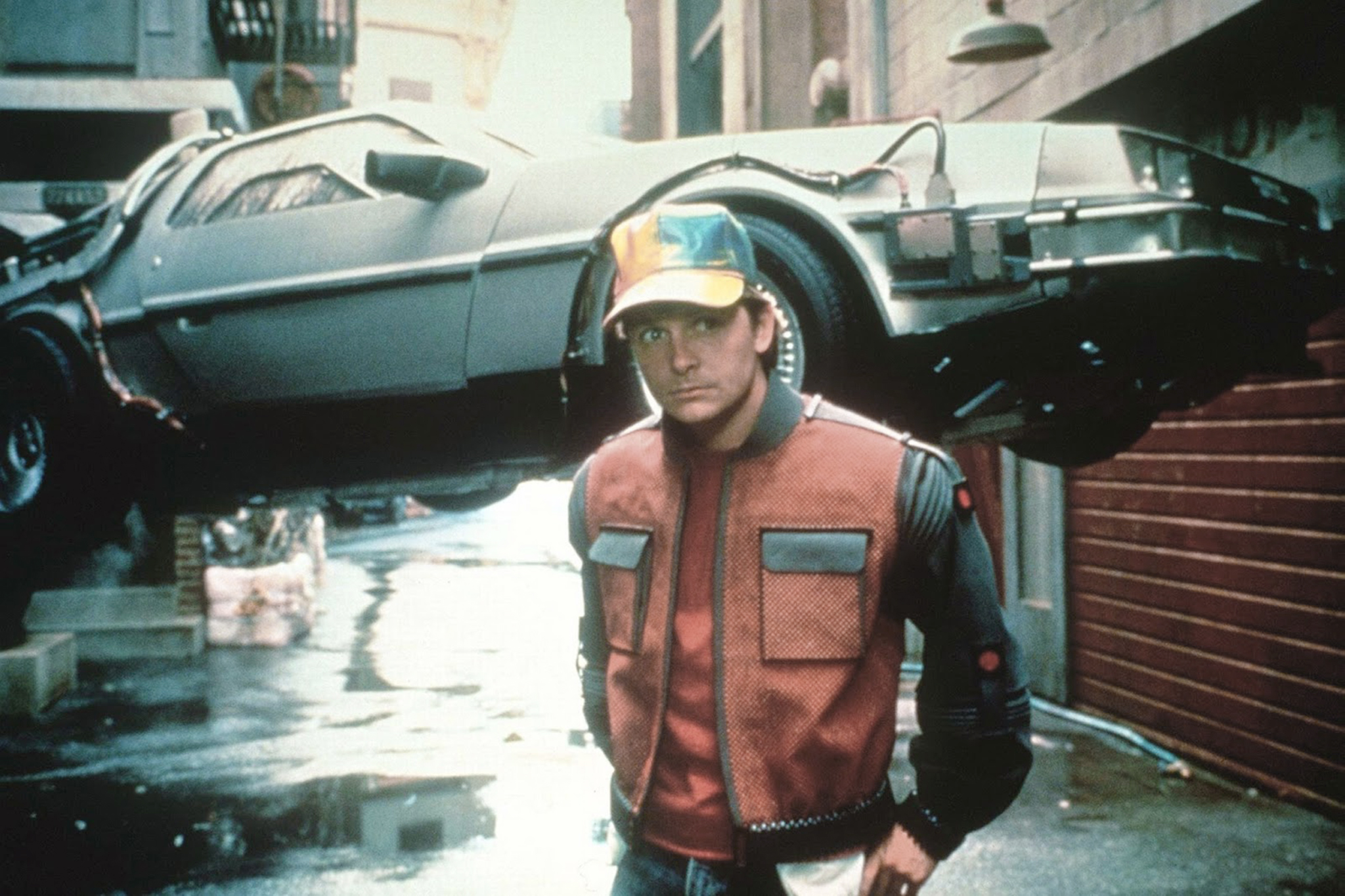 back to the future copy
