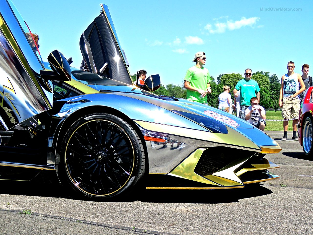 Team Salamone Lamborghini Aventador SV 1