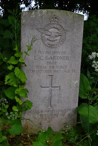 F/O E Gardner