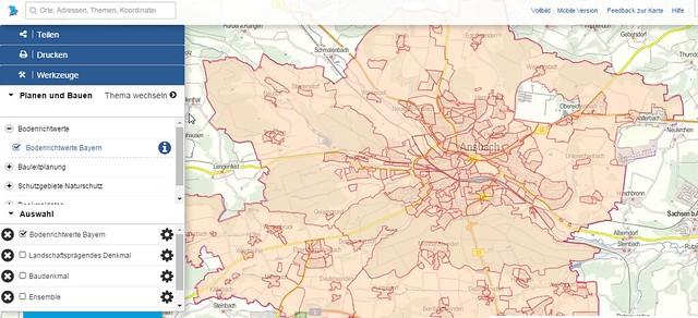 03 - Atlas von Bayern - Bodenrichtwerte