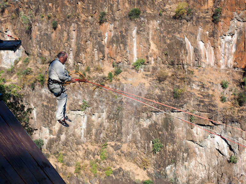 Gorge swing in Zimbabwe