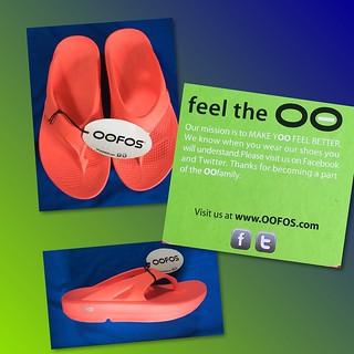 Image - OOFOS flip-flops in Melon