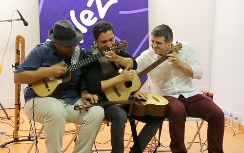 C4 Trío y Omar Acosta  derrochan pasión y talento  en el Centro Cultural de Venezuela en España