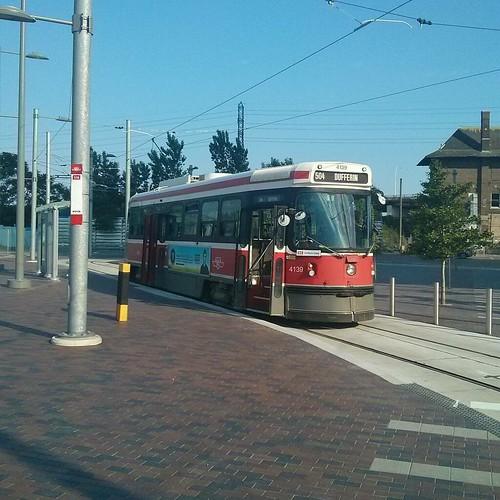 514 Cherry, pre-departure #toronto #ttc #streetcar #514cherry #distillerydistrict