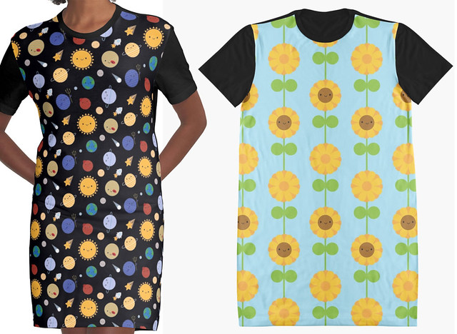 T-shirt Dresses at Redbubble