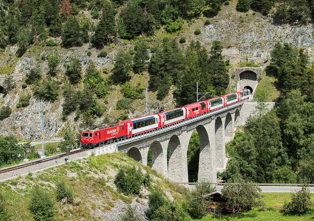 16.08.2014, Glacier Express, Lax - Grengiols