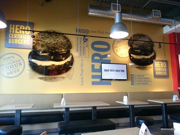 Hero Certified Burgers Highway 7 Bayview