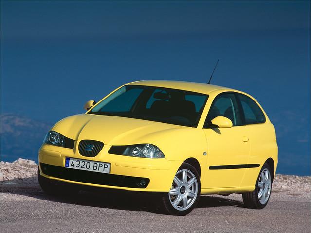 Хэтчбек Seat Ibiza II, рестайлинг. 1999 - 2002 годы