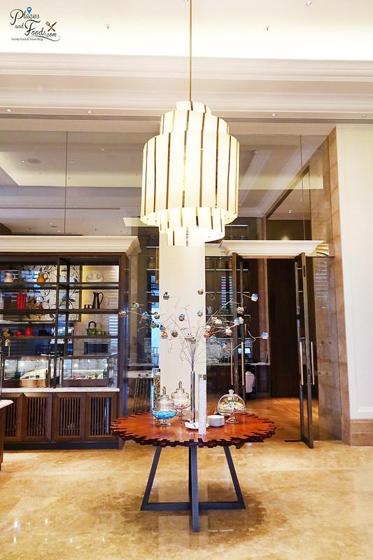 st regis langkawi gourmand deli chandelier