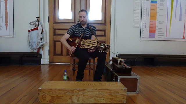 Playing the Nyckelharpa