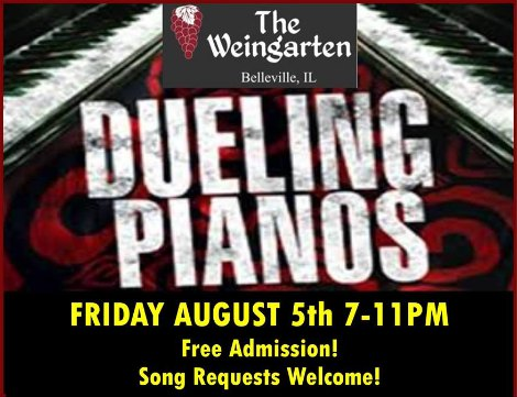 Dueling Pianos 8-5-16