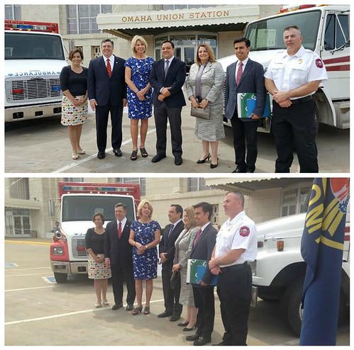 Donación de ambulancias