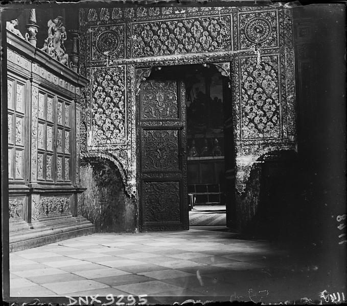 Catedral de Toledo a comienzos del siglo XX. Fotografía de Henri Deneux © Ministère de la Culture (France), Médiathèque de l'architecture et du patrimoine, Diffusion RMN-GP