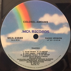 COLONEL ABRAMS:TRAPPED(LABEL SIDE-A)
