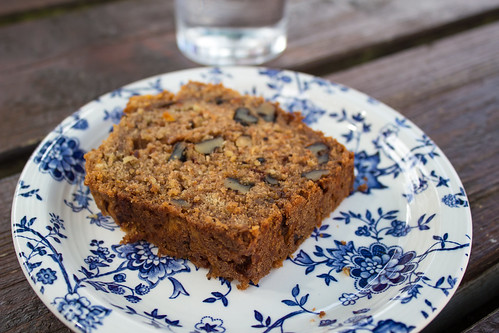 Carrot, Apple and Walnut Loaf