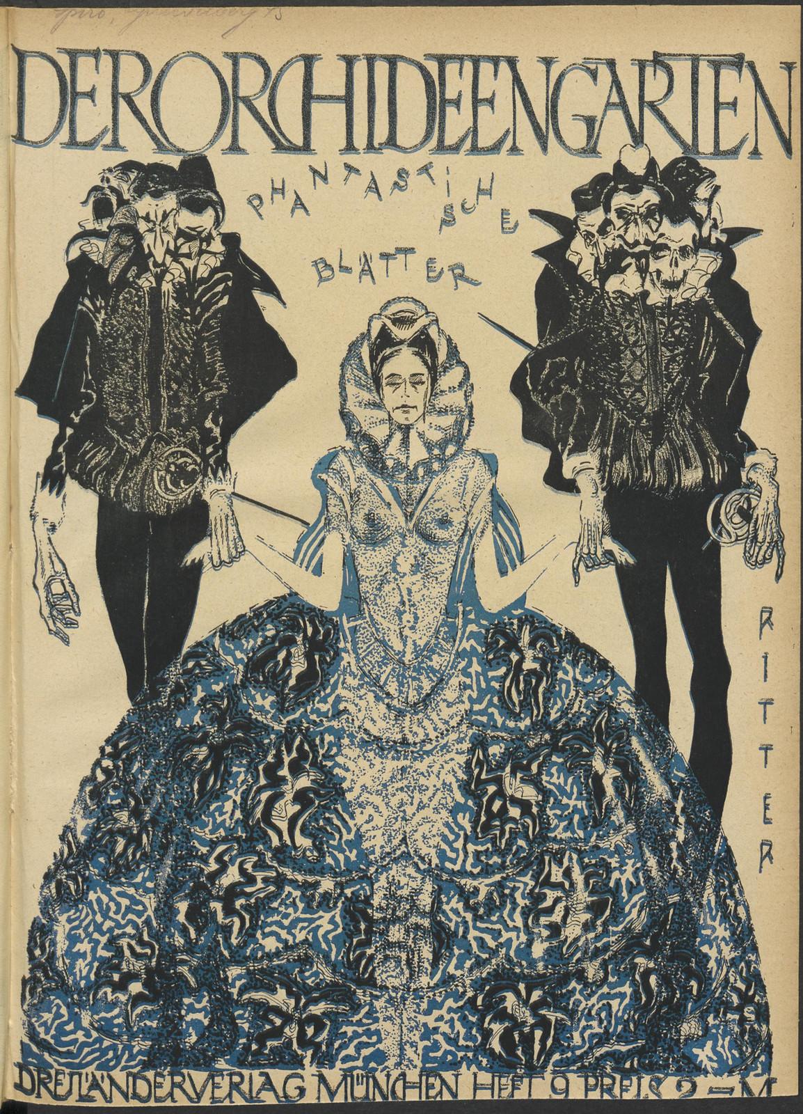 Der Orchideengarten - 1920 (Cover 9)