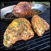 #PuertoRican #Chicken #KamadoJoe #BBQ #Adobo #Homemade #CucinaDelloZio - keep basting!